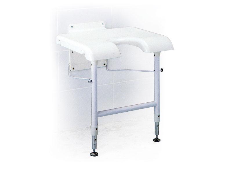 Sedile Per Doccia : Sedia per doccia da fissare al muro mediland sanity e ortopedia
